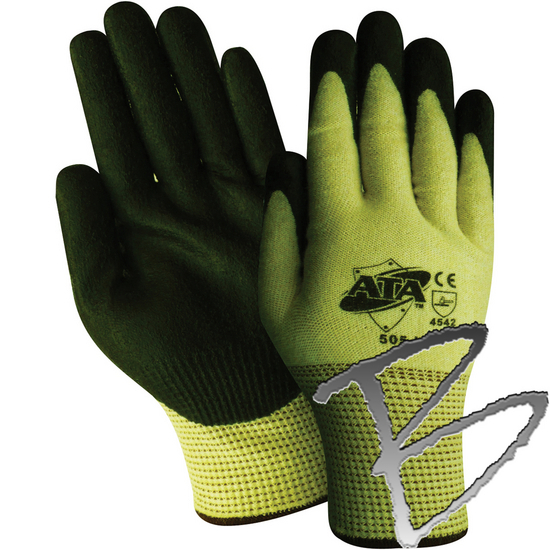 Red Steer Gloves : Land surveyor ppe red steer knit glove