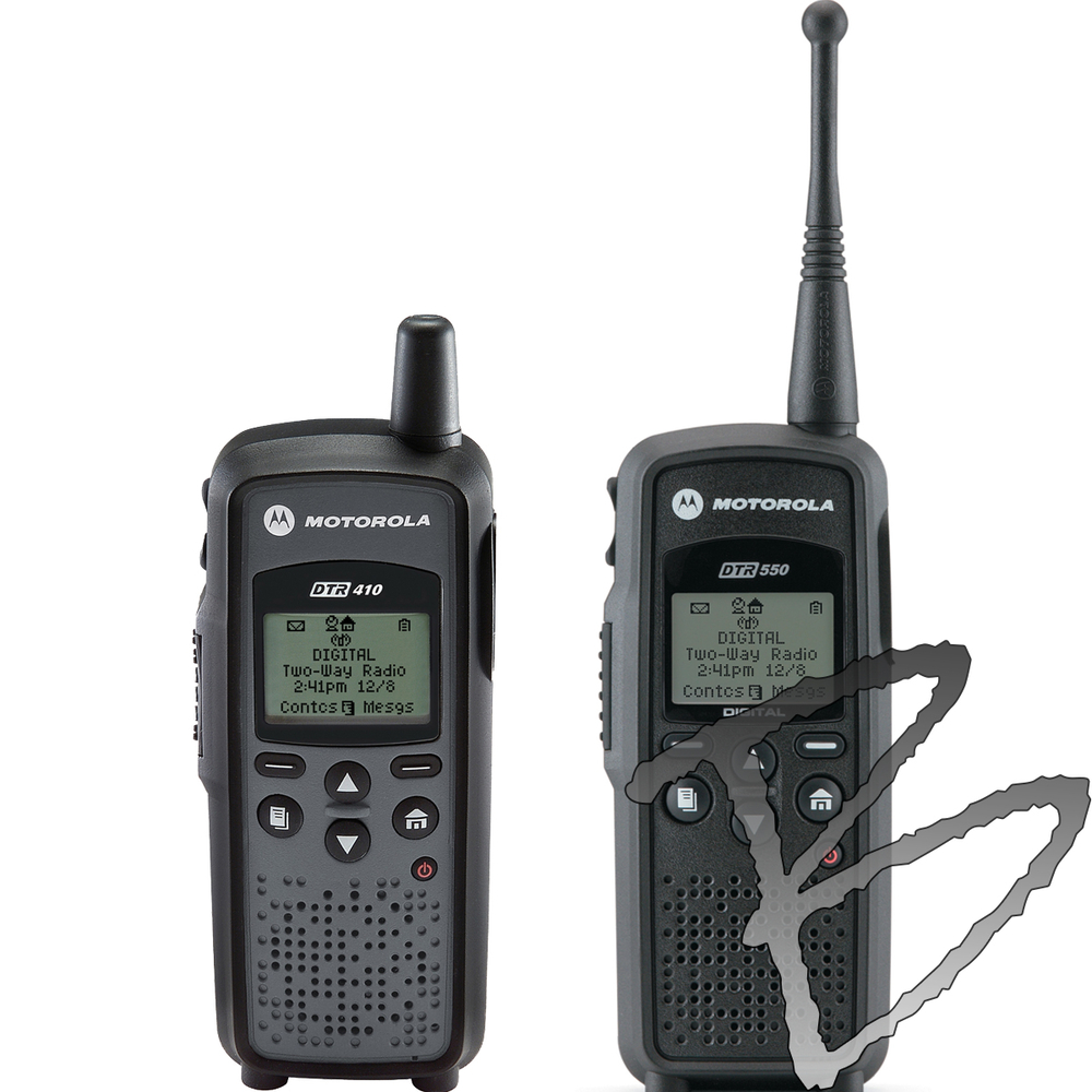 Motorola DTR Series Digital Two Way Radios