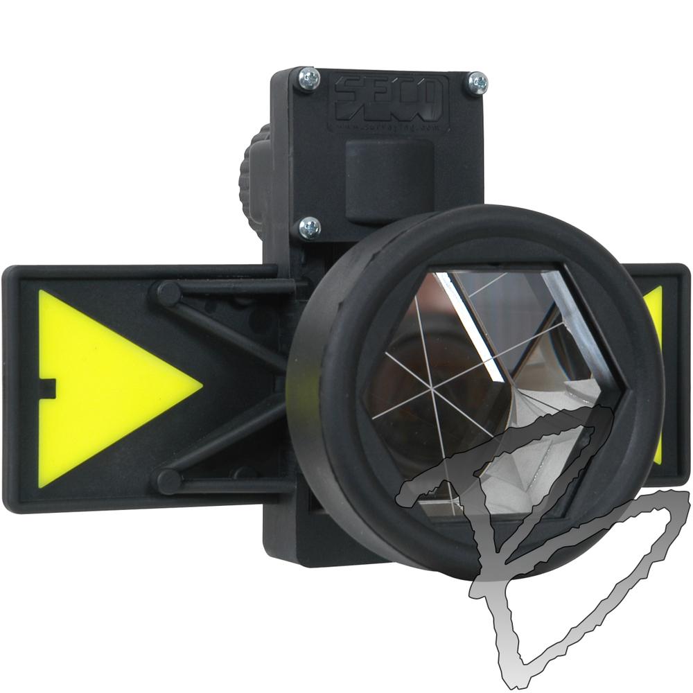 Seco Surveying Equipment Pin Pole Mini Prism System