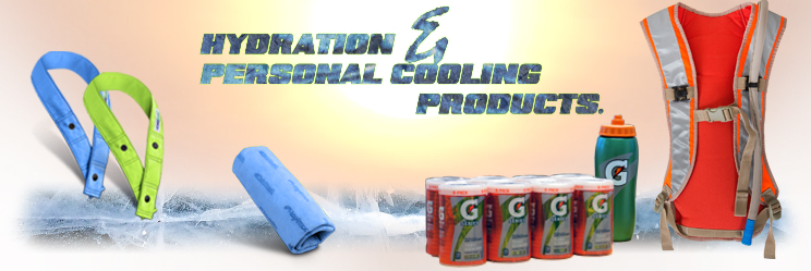 Hydration and personal cooling products
