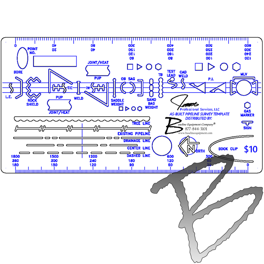 as built pipeline survey template field books paper templates