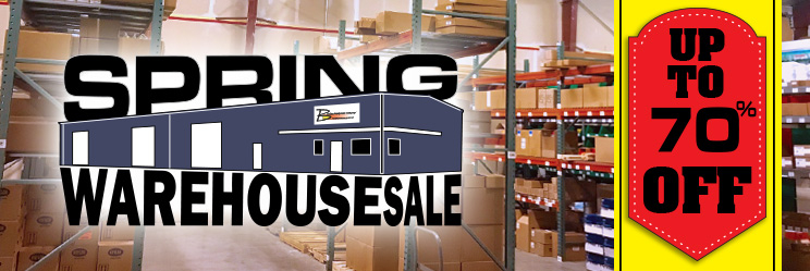 Spring Warehouse Sale