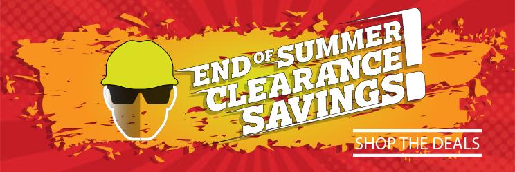 Summer Clearance 2018
