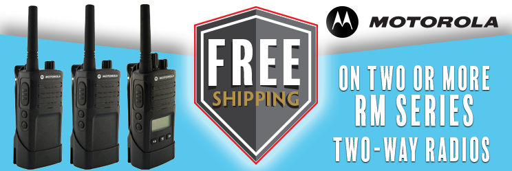 Free Shipping On Motorola RM Series Radios