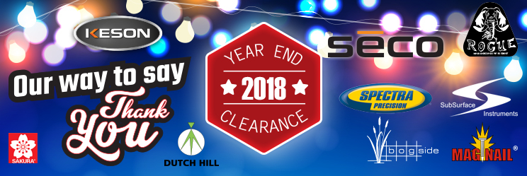 Year End Clearance 2018