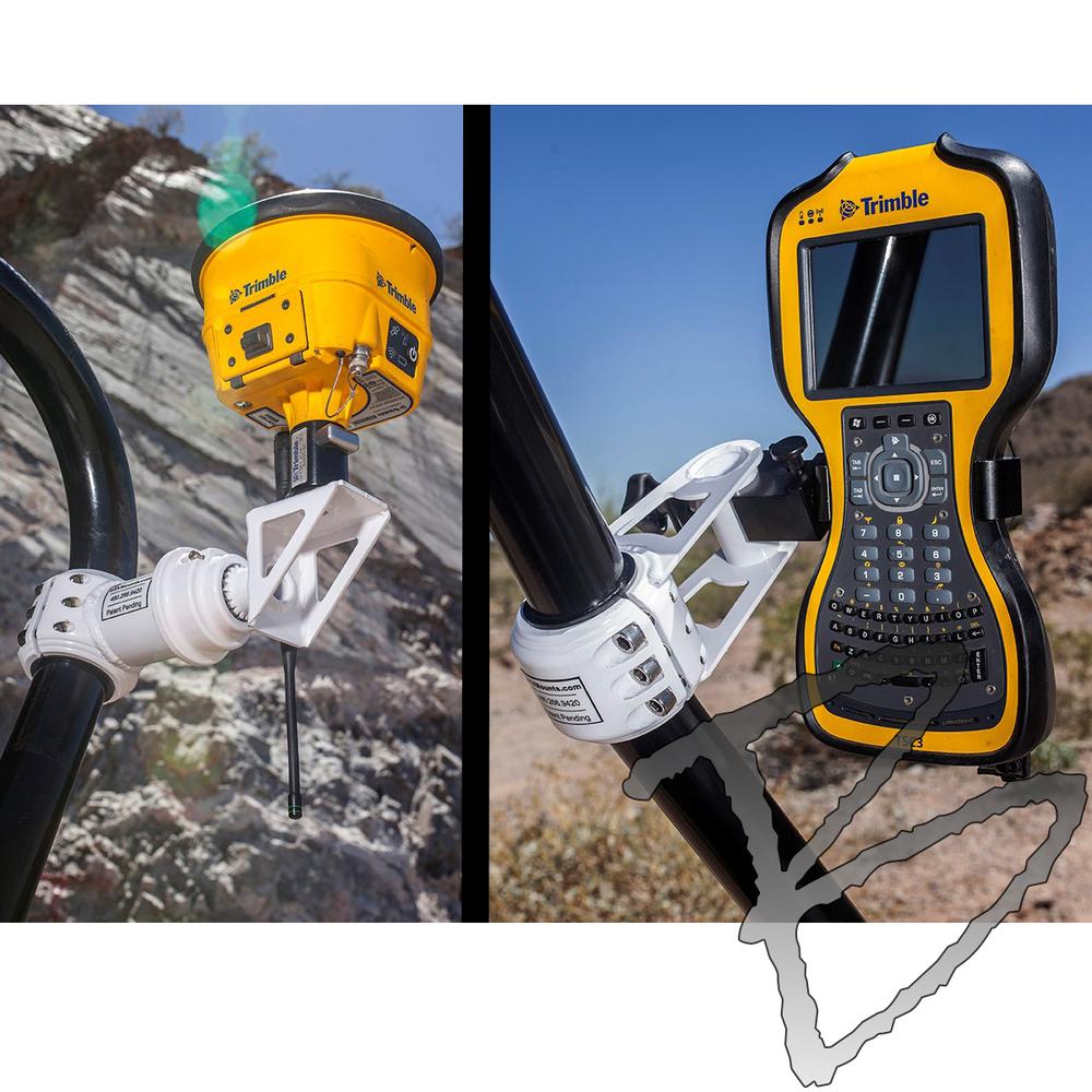 Grade Control Products Universal UTV GPS Survey Mount   GPS Vehicle