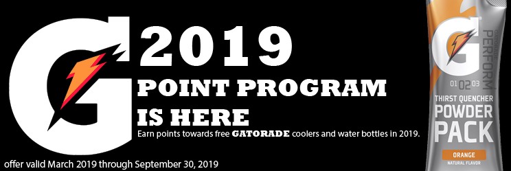 Gatorade Points Prgram