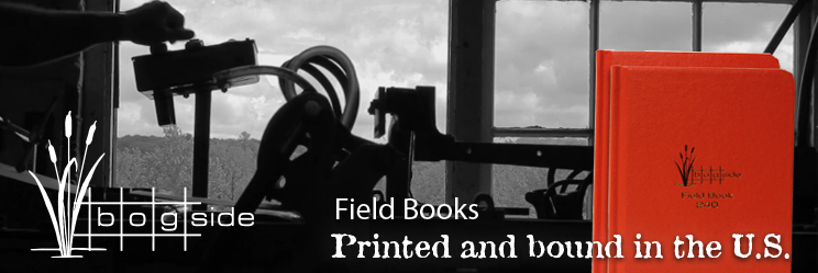 Bogside Publishing U.S. Made Field books and filler paper