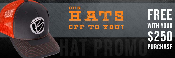 Free Hat Promo