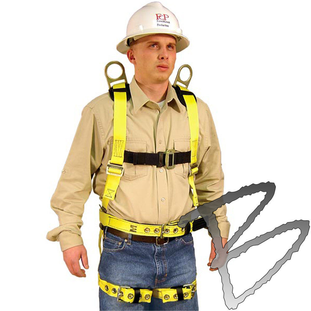 Fcp Full Body Harness  Shoulder  U0026 Back D