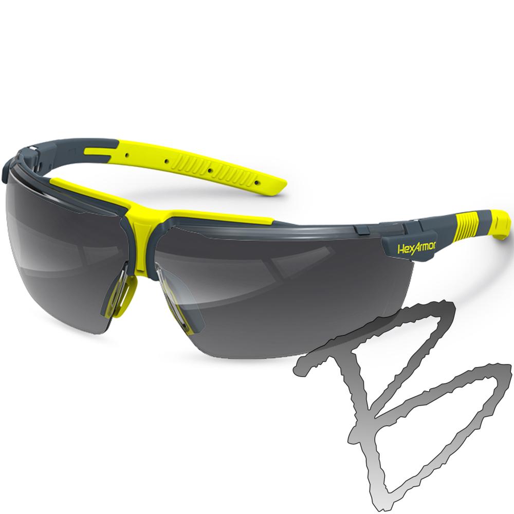 f32d09f1c5fc8 Hexarmor Safety Eyewear VS300, Variomatic Lens - TruShield | Safety ...
