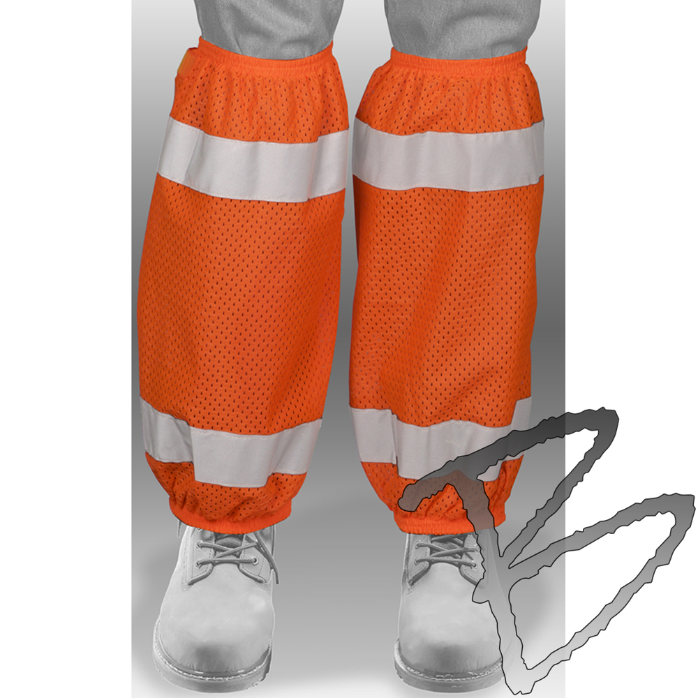 Ml Kishigo Mesh Gaiters 6 Pack Hi Vis Safety Pants