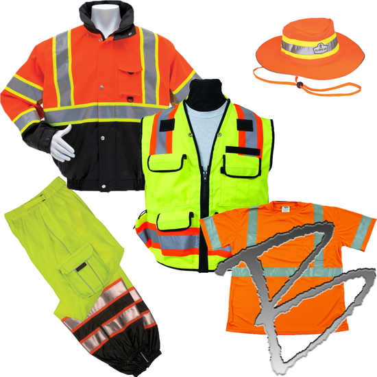 Safety Vests & Apparel for Land Surveyors