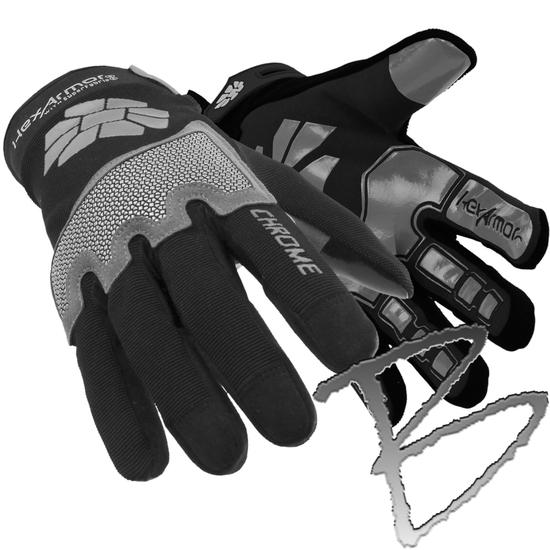 Hexarmor Chrome Series Mechanics Glove 4023 Cut A8 360