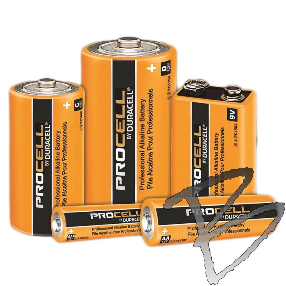 Duracell ProCell Alkaline Batteries   Batteries