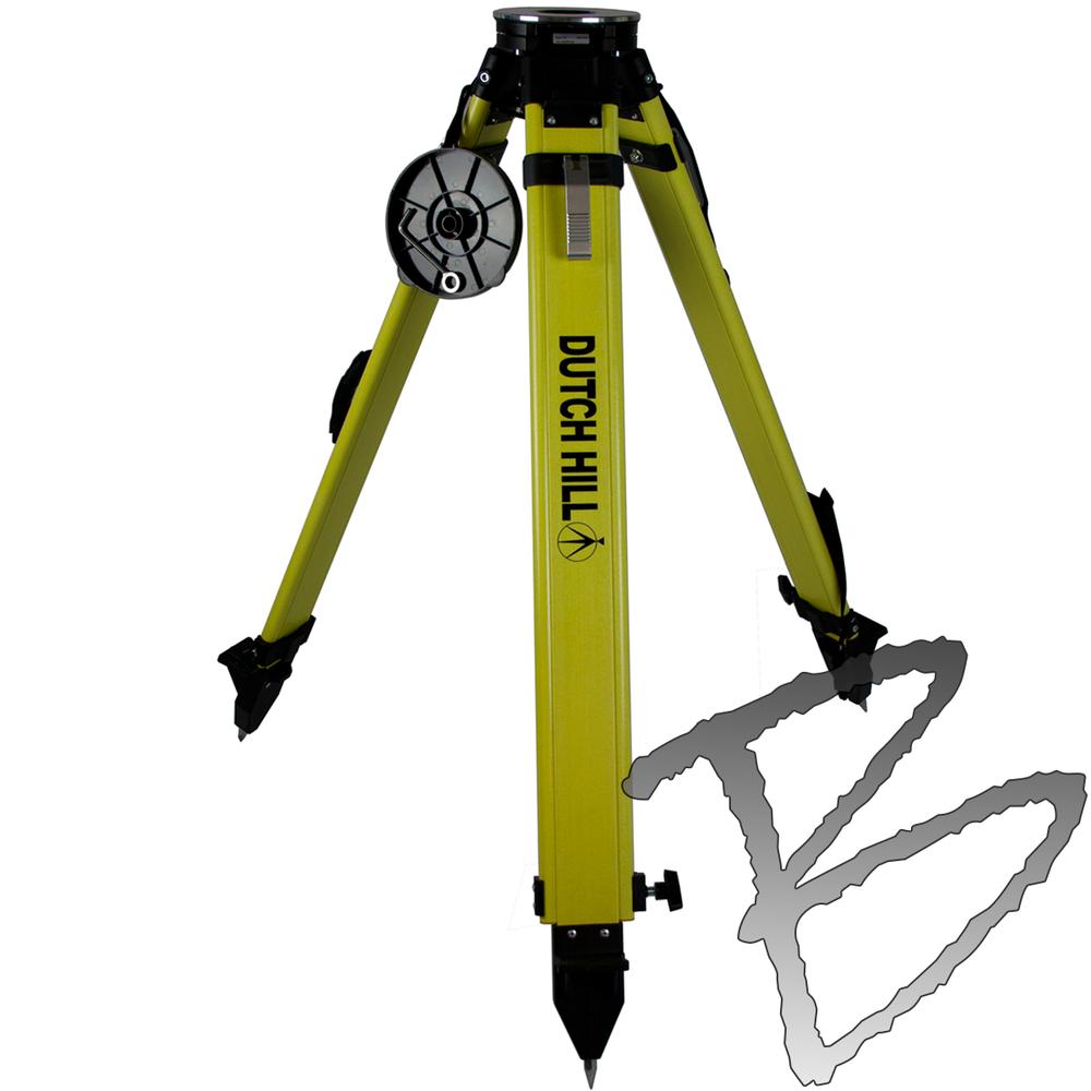Heavy Duty Fiberglass : Tripod surveying equipment dutch hill fiberglass