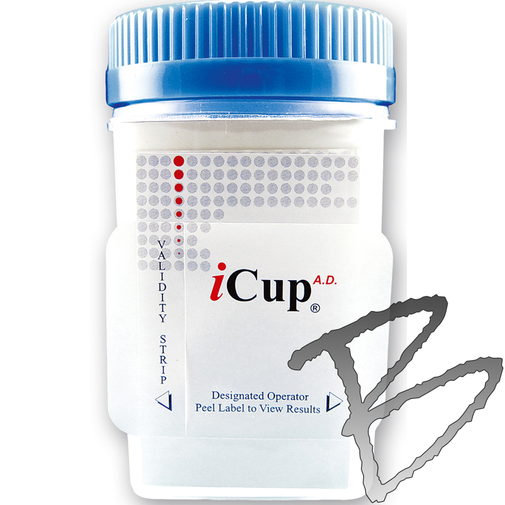 Instant Technologies Icup Drug Testing Kit 25 Per Box