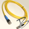 Image Topcon GB500 to PGA Antenna Cable, Lemo Coax FFA.1E.250 to TNC