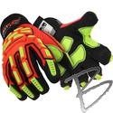 Image HexArmor GGT5® Mud Grip® 4021X, Cut 5 Palm + IR-X® Impact
