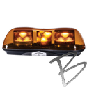 Image Code 3 PSE Amber LED Amber Mini Bar, 420 Series