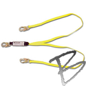 Image FCP 6' Dual Leg Absorbing Web Lanyard w/Pack, Snap Ends*