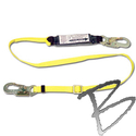 Image FCP 6' Adjustable Length Absorbing Web Lanyard w/Pack, Snap Ends