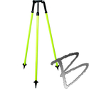 Image SECO Construction Series Thumb-Release Prism Pole Tripod