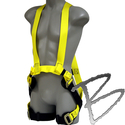 Image FCP Utility Harness, No Metal above the Waist, Buckle Insulators, Back Web Loop