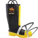 Image Thorogood Hellfire Neoprene Rubber Structural & Haz-Mat Fire Boot with Lug Sole