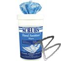 Image Dymon SCRUBS Hand Sanitizer Wipes, 85 Wipes per Bucket