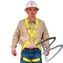Image FCP Full Body Harness, Cross Chest Design, Front & Back D-Rings