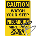 Image Laminated Plastic Signs, 8 x 14