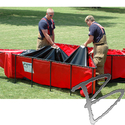 Image Husky Portable Containment Aluminum Folding Frame Tank, Lightweight