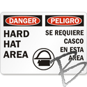 Image Adhesive Sign, 8 x 14