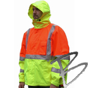 Image Dicke Safety Products Two-Tone Windbreaker, Class 3