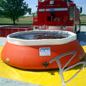 Image Husky Portable Containment Self Supporting Tanks, Low Side Wall