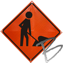 Image Dicke Safety Products Super Bright Reflective Road Sign Replacement Face