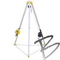 Image FCP Confined Space Tripod w/Self-Retracting 50' Stainless Steel Wire & Winch