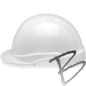 Image Elvex Tectra Hard Hat, 6pt Rachet Suspension