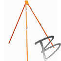 Image Dicke Safety Products 3-legged Tripod Sign Stand, Economy