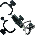 Image Ball-and-Socket Pole Clamps & Cradles