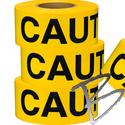 Image Presco 2.5 Mil Caution Tape, 3