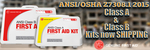 Image ANSI/OSHA Z7308.1 2015 First Aid Kits Class A & B