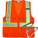 Image 3A Safety ANSI Class II multipocket Safety Vest