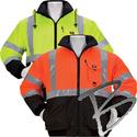Image 3A Safety 3 Season Reversible Waterproof Thermal Jacket, Class 3