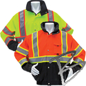 Image 3A Safety 3 Season Waterproof Thermal Jacket w/ Removable Liner, Class 3