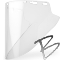 Image Elvex Premium Molded Lexan® Face Shield, Clear