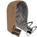 Image Bulwark FR Brown Duck Universal Fit Snap-On Hood - EXCEL FR® ComforTouch&reg