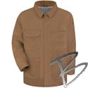 Image Bulwark FR Brown Duck Lineman's Coat - EXCEL FR® ComforTouch®