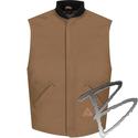 Image Bulwark FR Brown Duck Vest Jacket Liner - EXCEL FR® ComforTouch®
